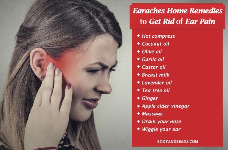 15 Earaches Home Remedies to Get Rid of Ear Pain Fast and Naturally