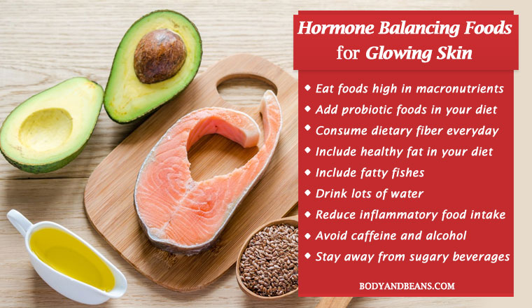 Hormone Balancing Foods for Glowing Skin - Foods to Eat and Avoid