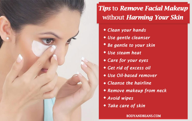 How to Remove Facial Makeup without Harming Your Skin