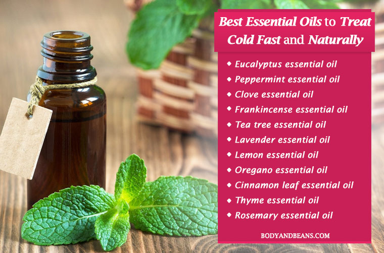 11 Best Essential Oils to Treat Cold and Congestion Fast and Naturally