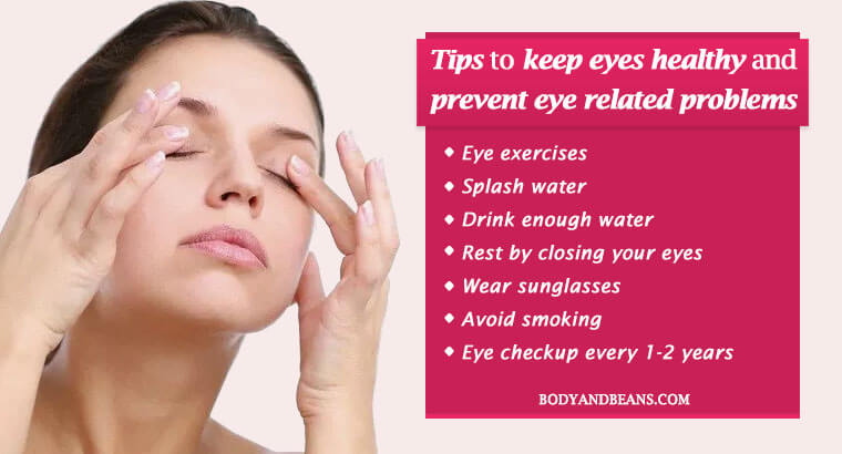 Tips to keep eyes healthy and prevent eye related problems