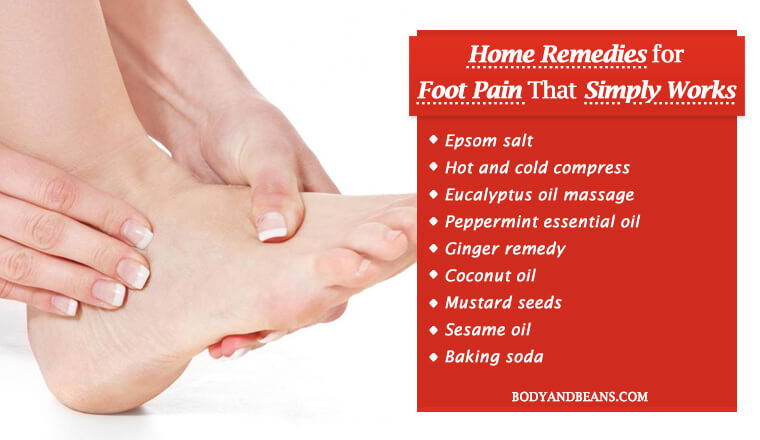Home Remedies for Foot Pain to Ease Out Foot Pain Quickly and Naturally