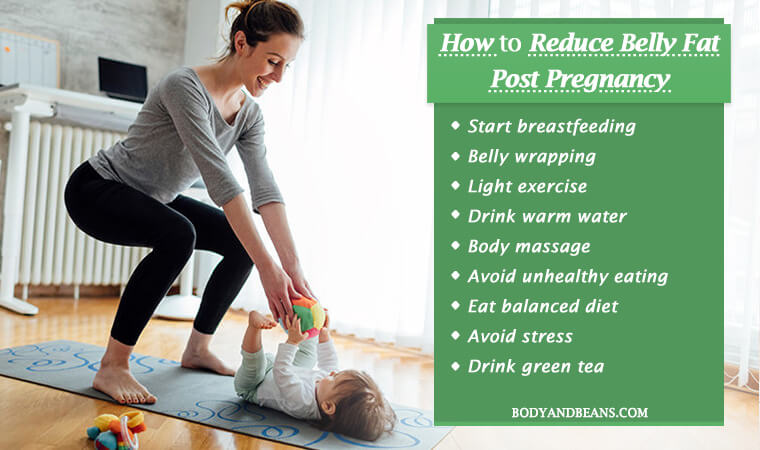 How to Reduce Belly Fat Post Pregnancy