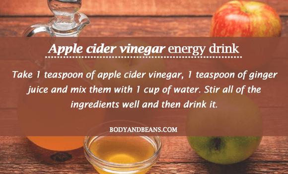 Apple Cider Vinegar Energy Drink