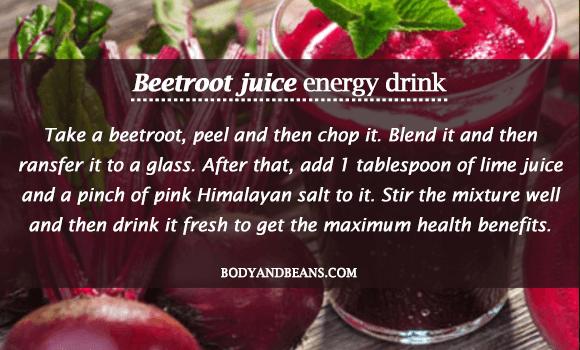 Beetroot Juice - Homemade Energy Drink