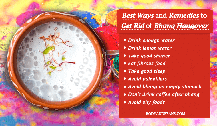 Best Ways and Remedies to Get Rid of Bhang Hangover this Holi