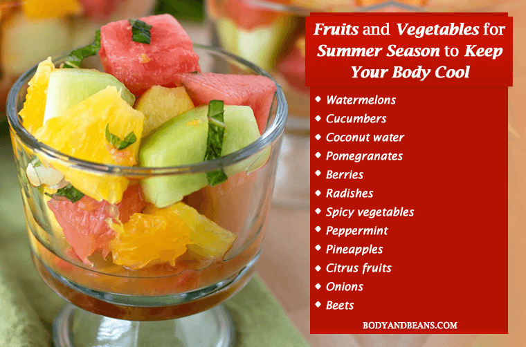 Best fruits and vegetables to cool your body from inside in summer
