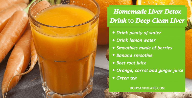 Best Homemade Liver Detox Drink to Deep Clean Liver