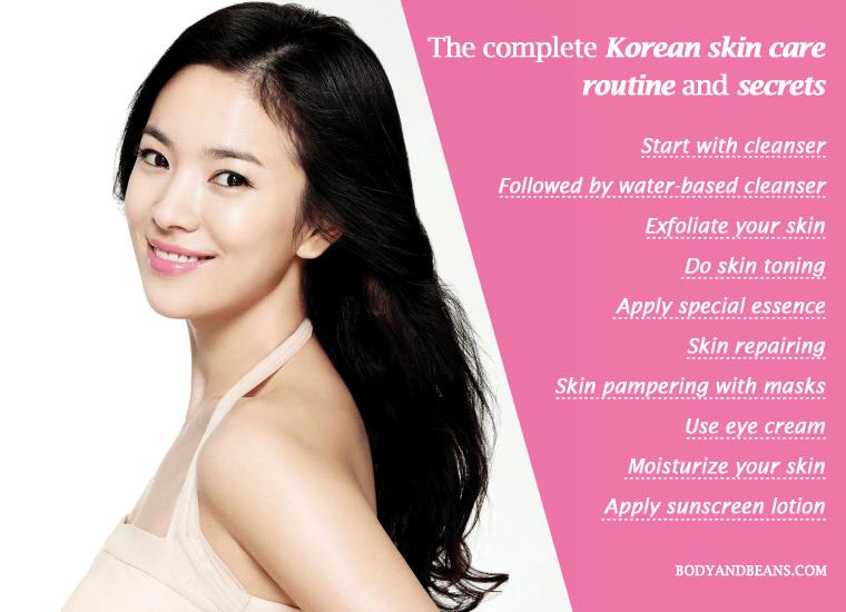 Korean Skin Care Routine and Secrets