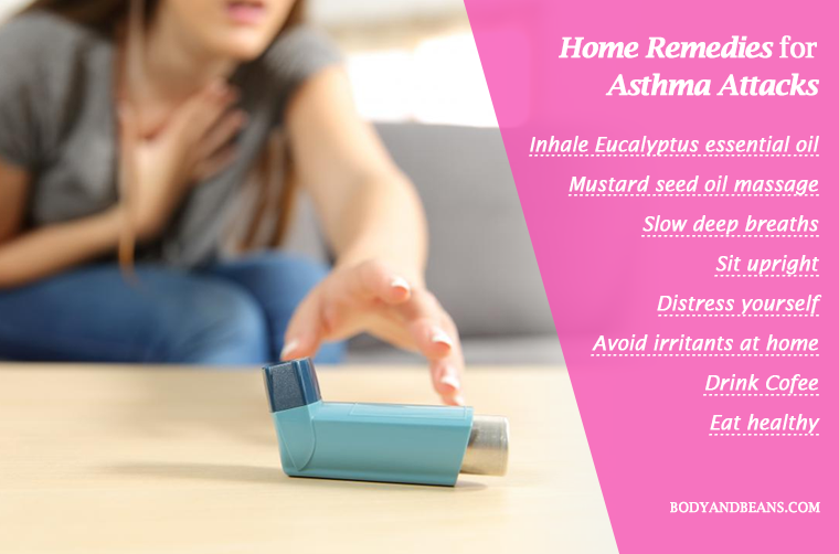 Best Home Remedies for Asthma Attacks