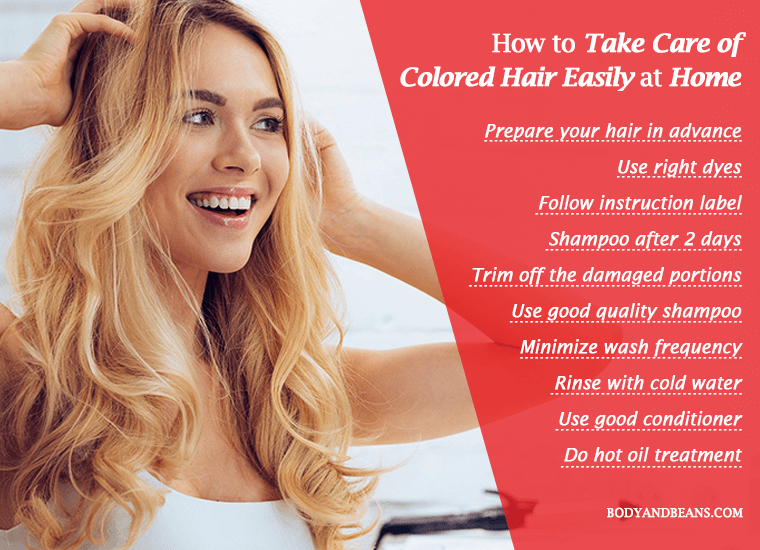 How to Take Care of Colored Hair for Longer Lasting Color