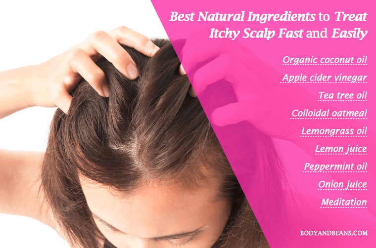 Best natural ingredients and remedies to treat itchy scalp